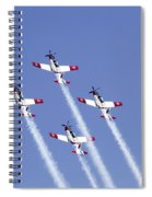 Iaf Acrobatic Team Spiral Notebook