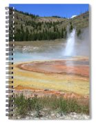 Imperial Geyser, Yellowstone Np Spiral Notebook