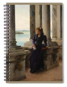 In The Belfry Of The Campanile Of St Marks Venice Henry Woods Spiral Notebook