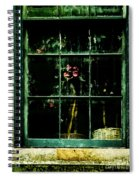 In The Window Spiral Notebook