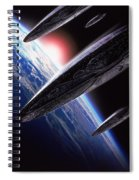 Independence Day 1996 Spiral Notebook