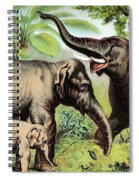 Indian Elephant, Endangered Species Spiral Notebook