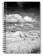 Infrared Landscape In Norway Spiral Notebook