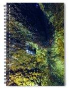 Inside The Volcano Thrihnukagigur - Iceland Spiral Notebook