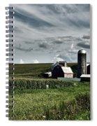 Iowa Farmstead Spiral Notebook