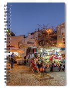 Istanbul At Night Spiral Notebook
