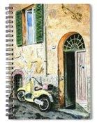 Italian Alley Spiral Notebook