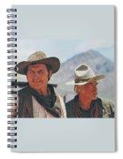 Jack Palance And Lee Marvin Monte Walsh Set Old Tucson Arizona 1969 Spiral Notebook