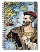 Jacques Cartier (1491-1557) Spiral Notebook