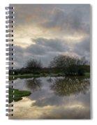 Janesmoor Pond - New Forest Spiral Notebook