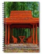Japanese Garden Spiral Notebook