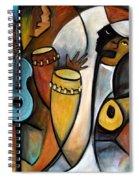 Jazzz Spiral Notebook
