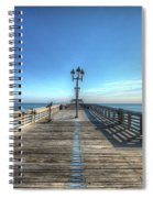Jennettes Pier Nags Head North Carolina Spiral Notebook