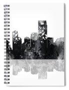 Jersey City New Jersey Skyline Spiral Notebook