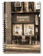 Johnson City Tennessee - Gun Shop Spiral Notebook