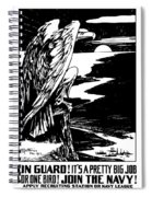 On Guard - Join The Navy Spiral Notebook