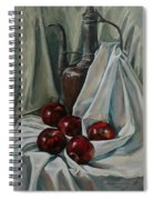 Jug With Apples Spiral Notebook