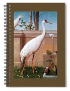 kb Marks Henry-Indian Crane Bullfinch and Thrush Henry Stacy Marks Spiral Notebook