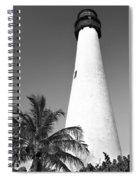 Key Biscayne Lighthouse Spiral Notebook