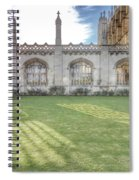 King's College Cambridge Spiral Notebook