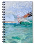 Kitesurfing Spiral Notebook