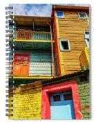 La Boca, Buenos Aires, Argentina Spiral Notebook