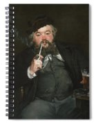 Le Bon Bock Spiral Notebook
