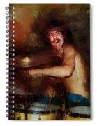 Led Zeppelin. John Henry Bonham. Spiral Notebook