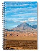 Licancabur Volcano View Spiral Notebook