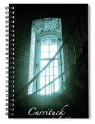 Light Through The Currituck Window - Text Spiral Notebook