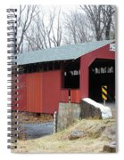 Little Gap Covered Bridge Spiral Notebook