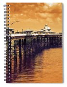 Llandudno Pier North Wales Uk Spiral Notebook