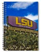 Lsu Tiger Stadium Spiral Notebook
