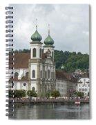 Lucerne Switzerland Spiral Notebook