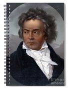 Ludwig Van Beethoven, German Composer Spiral Notebook
