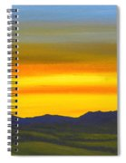 Luminescent Sunrise Spiral Notebook