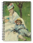Madame Monet And Her Son Spiral Notebook