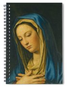 Madonna At Prayer Spiral Notebook