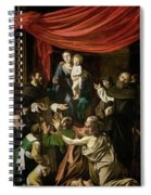 Madonna Of The Rosary Spiral Notebook