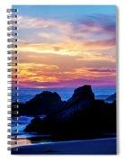 Magical Sunset - Harris Beach - Oregon Spiral Notebook