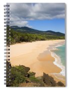 Makena Beach Spiral Notebook