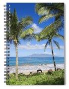 Makena, Maluaka Beach Spiral Notebook