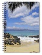 Makena, Secret Beach Spiral Notebook