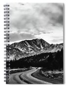 Mammoth Lakes Area Of California Spiral Notebook