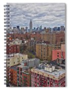 Manhattan Landscape Spiral Notebook