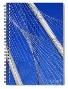 Margaret Hunt Hill Bridge In Dallas - Texas Spiral Notebook