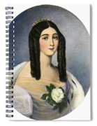 Marie Duplessis Spiral Notebook