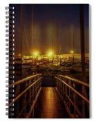Marine At Night Spiral Notebook