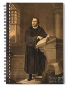 Martin Luther, German Theologian Spiral Notebook