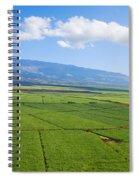 Maui Sugar Cane Spiral Notebook